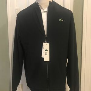 NWT Black Lacoste Coat - Novak Djokovic Collection